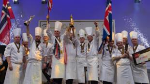 Подиум Золотого Бокюза: 1 место – США, 2 место – Норвегия, 3 место – Исландия