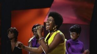 Aretha Franklin en 1970.