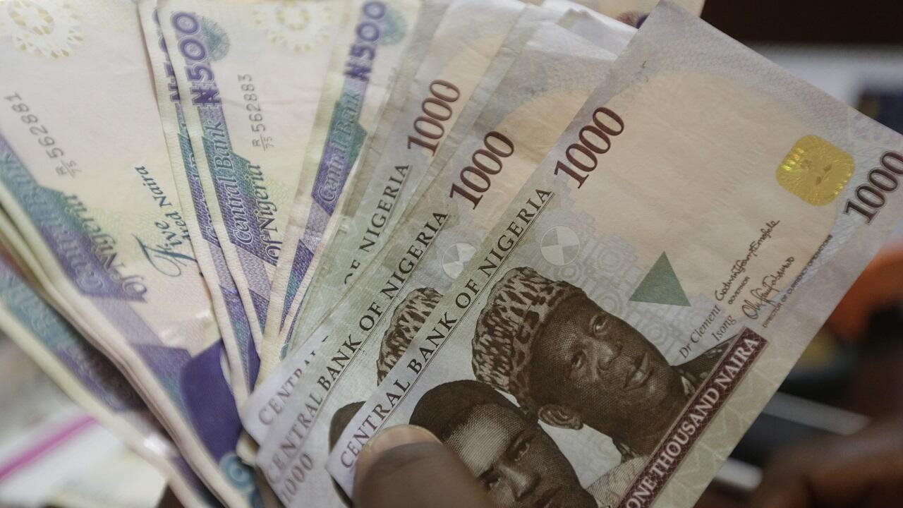 PHOTO Monnaie Naira