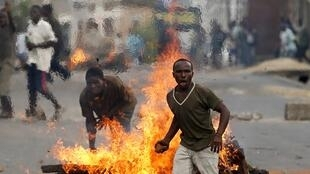 La crise au Burundi a fait au moins 700 morts selon la FIDH. A Bujumbura, le 21 mai 2015.