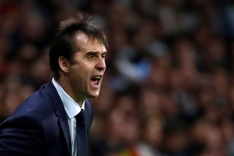 Sabon mai horar da kungiyar Real Madrid  Julen Lopetegui.