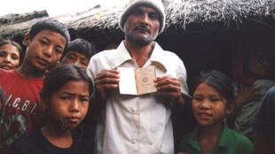 Bhutanese refugees in Beldangi, southeastern Nepal
