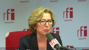 Geneviève Fioraso, ministre de l'Enseignement supérieur et de la recherche.