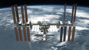 La station spaciale internationale (ISS).