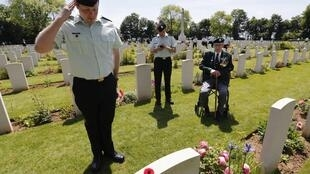 Nhiều binh sĩ Mỹ đã hy sinh tại Pháp trong Đệ nhị Thế chiến.