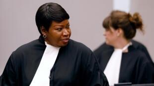 Mwendesha mashtaka wa ICC anayemaliza muda wake, Fatou Bensouda.
