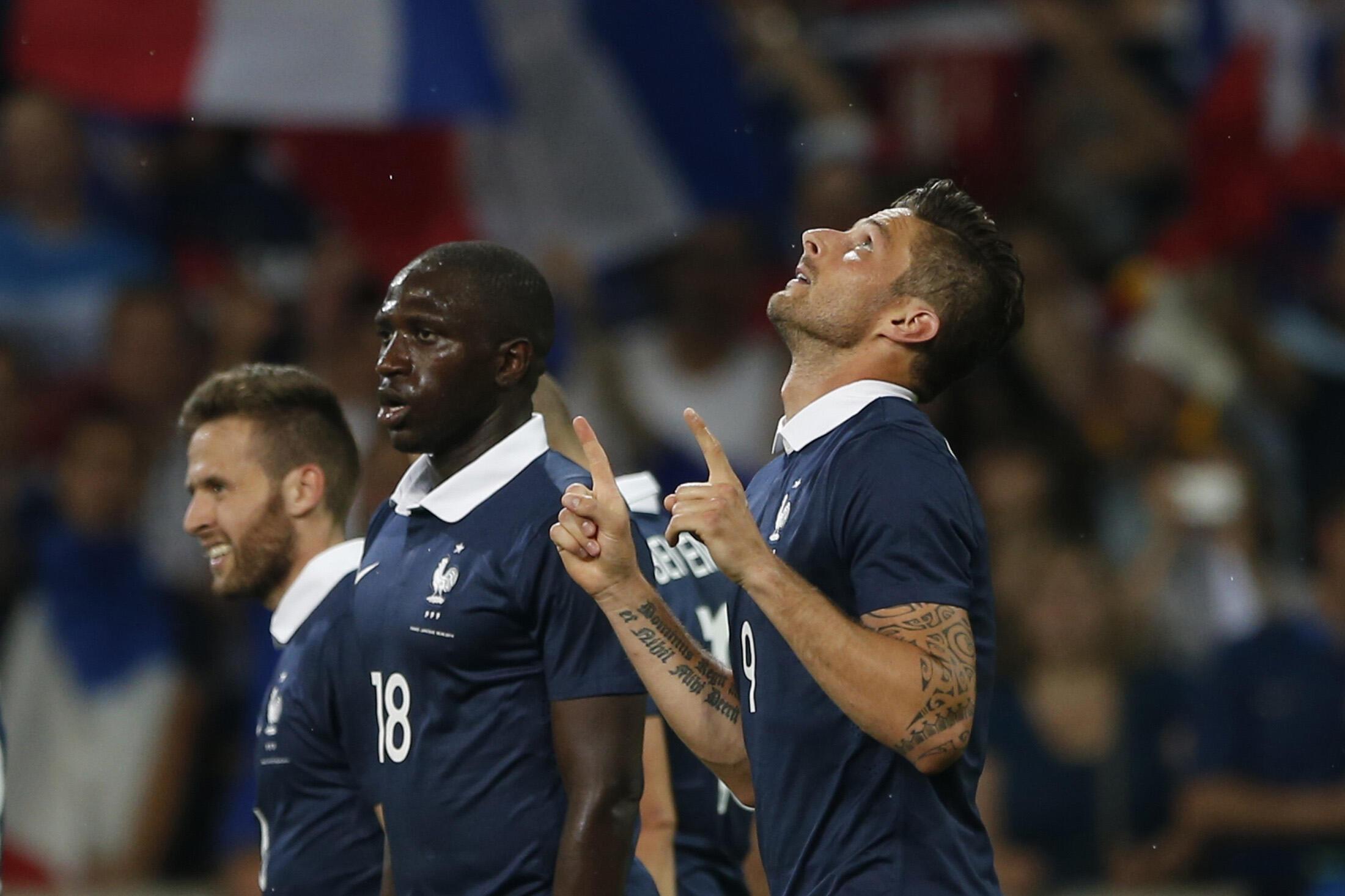 Seleção francesa vence a Jamaica por 8 a 0 em último amistoso antes da Copa do Mundo.