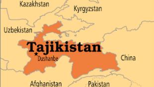 Carte Tajikestan