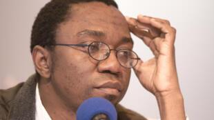 L'écrivain camerounais Patrice Nganang.