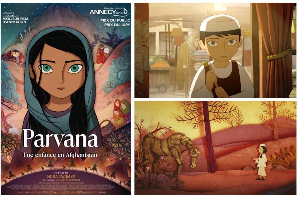 """پروانه""""، یک فیلم انیمیشن، فیلمی است تکاندهنده از زندگی یک کودک افغان""""."""