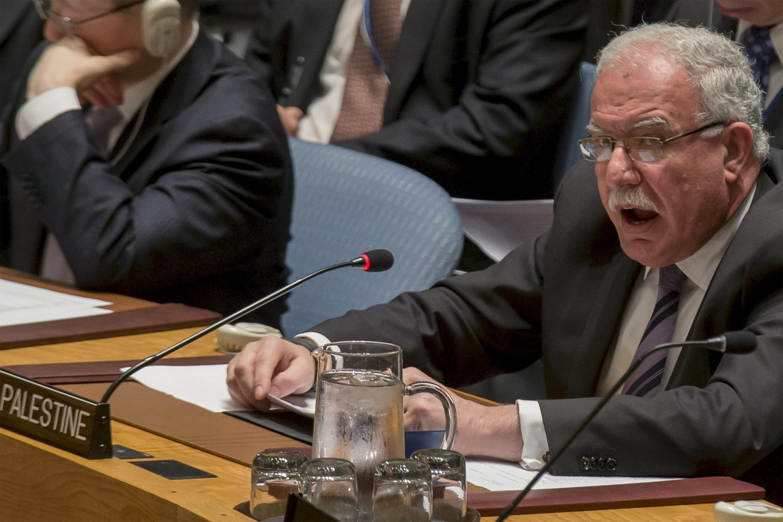 Ministan Harkokin Wajen Falasdinu Riyad al-Malki