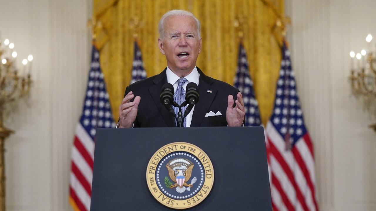 PHOTO Joe Biden - 16 août 2021