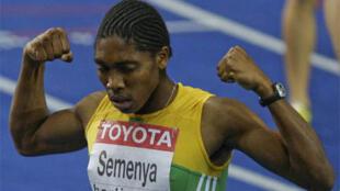 La Sud-Africaine Caster Semenya.