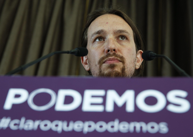 Pablo Iglesias avait prévenu avant le congrès: si son programme était rejeté, il démissionnerait de la tête du parti.