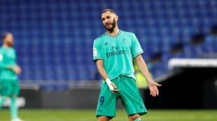Le footballeur français Karim Benzema.