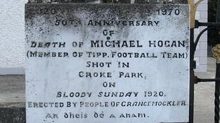 Commemorative_Plaque bloody sunday 1920 irlande