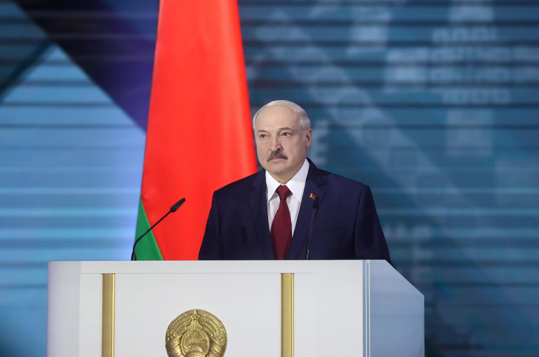 Aleksandr Lukashenko, Presidente da Bielorrússia.