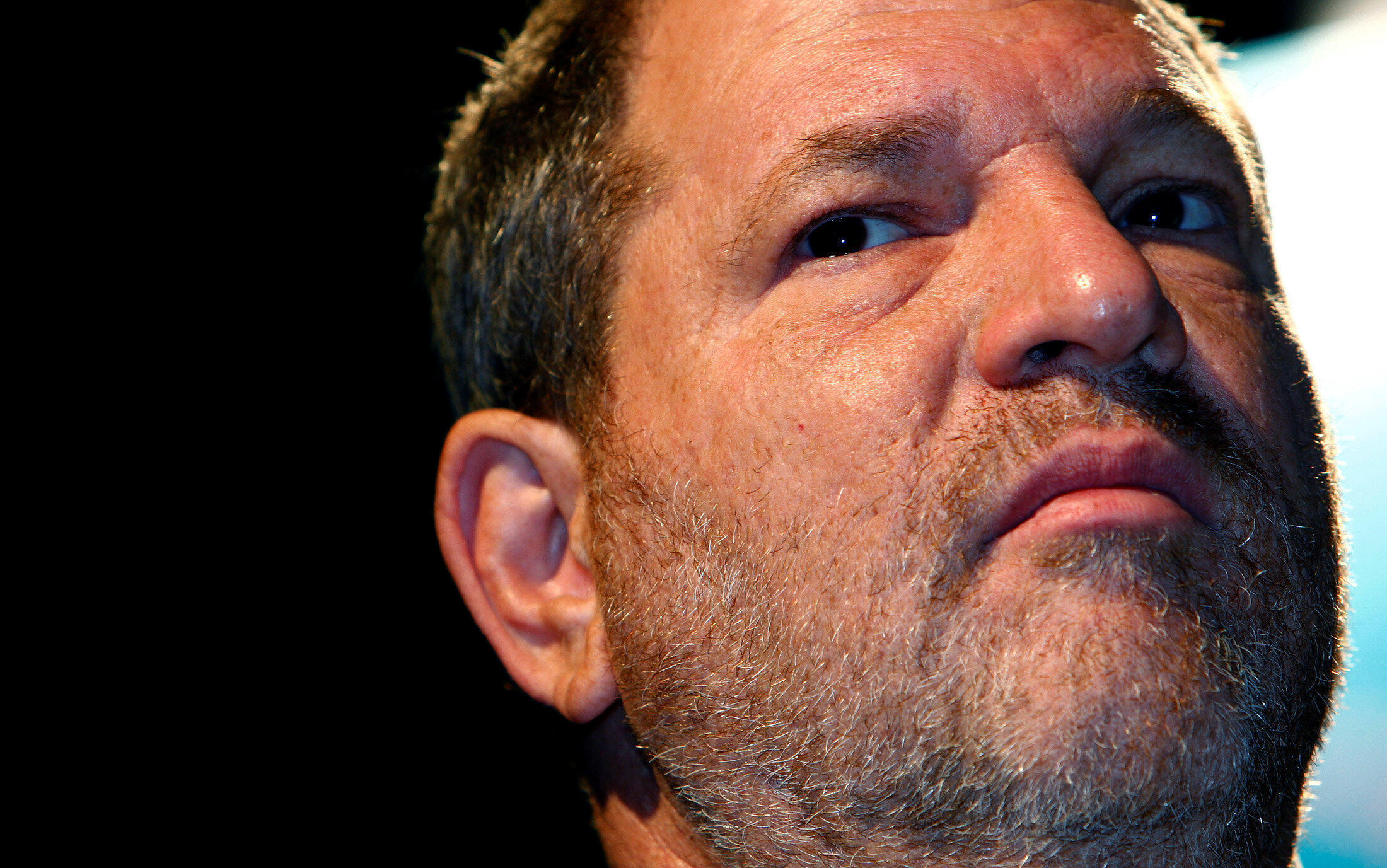 Disgreaced Hollywoon moghul Harvey Weinstein