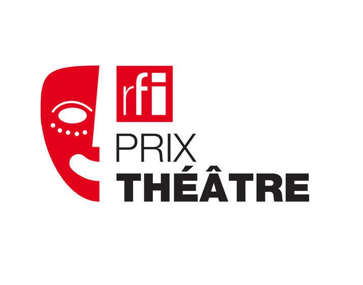 Le logo officiel du nouveau Prix RFI Théâtre qui a été décerné pour la première fois le dimanche 28 septembre 2014.