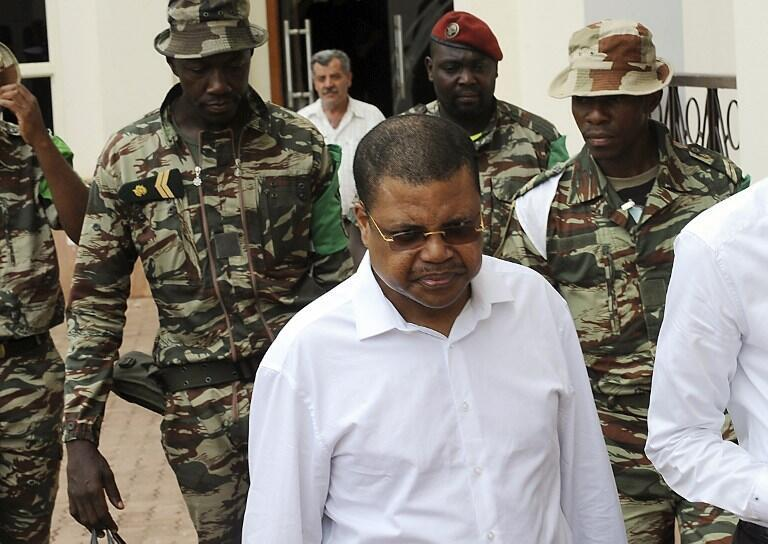 Nicolas Tiangaye, Premier ministre de la République centrafricaine.