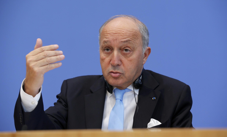 لوران فابیوس، وزیر امور خارجۀ فرانسه