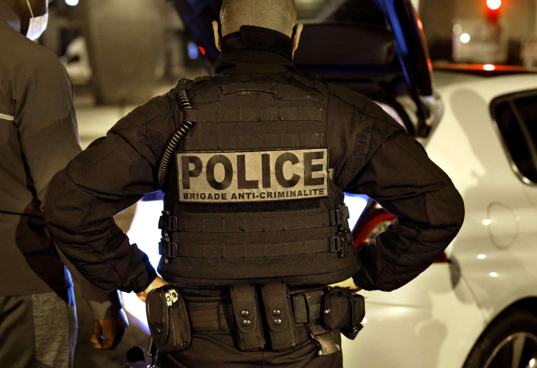 France Police Officier BAC