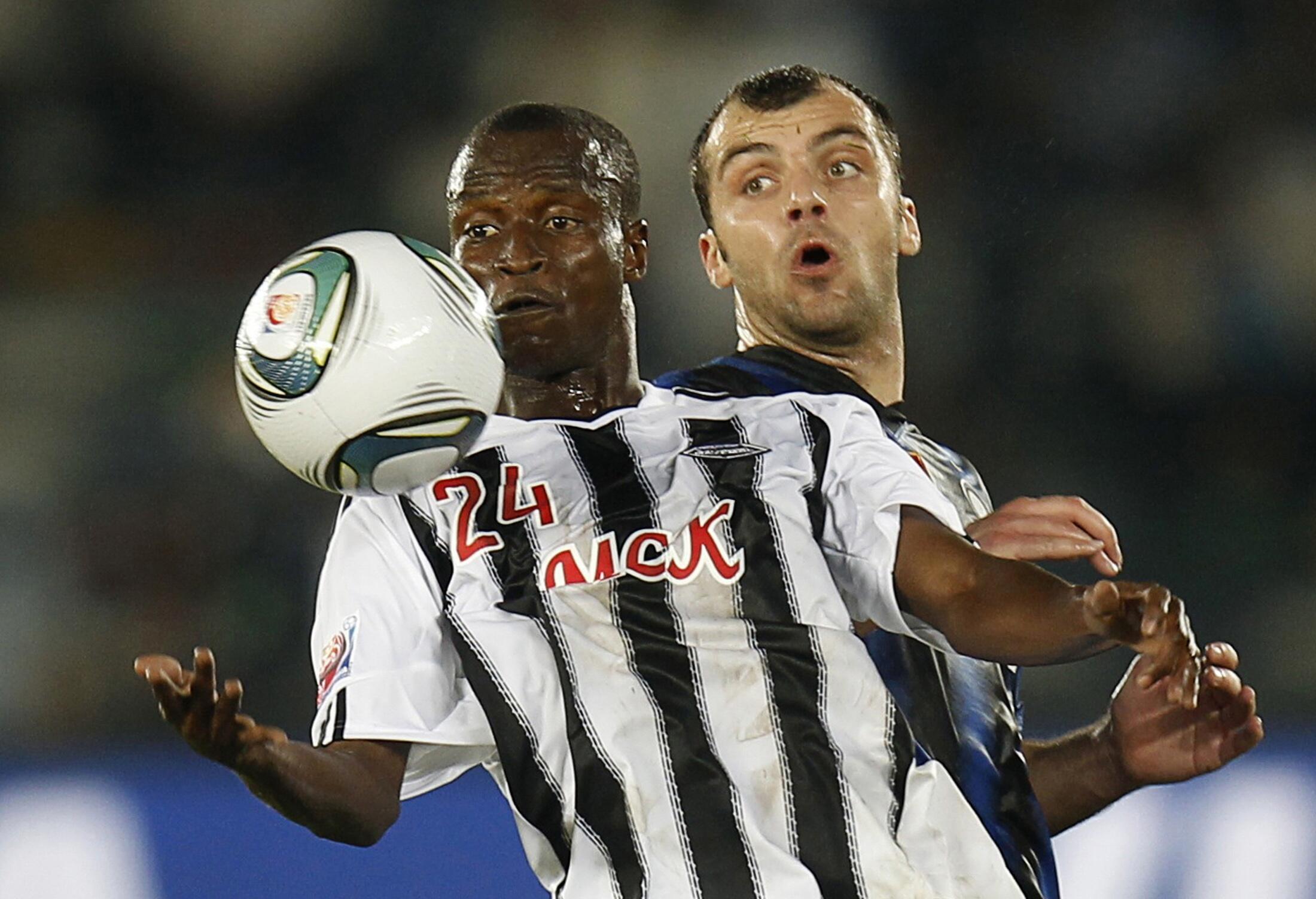 Amia Ekanga devance Goran Pandev mais les Congolais n'ont pas pu rivaliser avec l'Inter