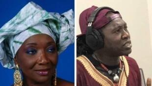 Aïcha Koné (Aïcha Koné) et Noumoucounda Cissokho (RFI).