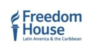 """自由之家""(Freedom House)標識"