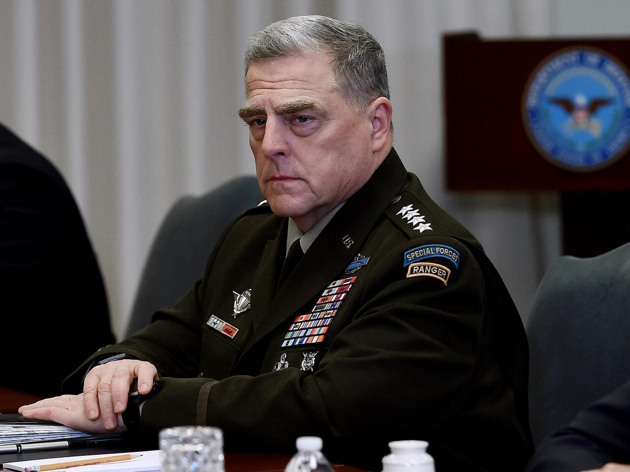 美军参谋长联席会议主席米利将军澄清从来没有怀疑过特朗普心智有问题