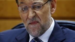 """El presidente del Gobierno, Mariano Rajoy, dijo respetar la decisión aunque la considera """"injusta y equivocada""""."""