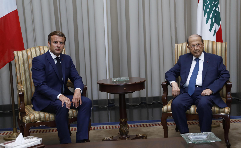 O presidente francês Emmanuel Macron viajou na manhã desta quinta-feira para Beirute, sendo o primeiro chefe de estado a visitar o Líbano desde a tragédia.