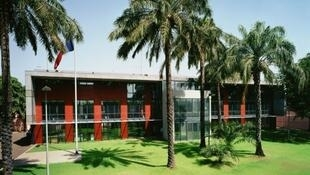 The French embassy at Bamako, Mali