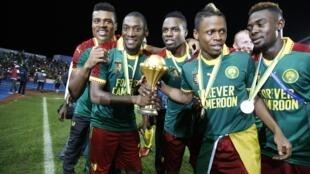 La Coupe d'Afrique des nations entre les mains des Camerounais, en 2017.