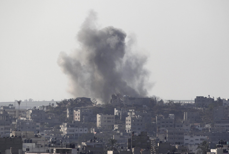 A aviação israelense continua a bombardear a Faixa de Gaza nesta quarta-feira (20).