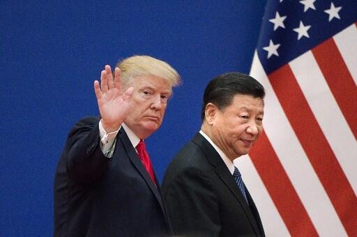 Shugaban Amurka Donald Trump da takwaransa na China Xi Jinping.