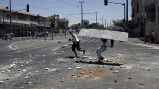 De violents heurts ont opposé Palestiniens et forces de l'ordre israéliennes, hier, mercredi 2 juillet, à Jérusalem.