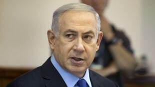 以色列总理内塔尼亚胡,2015年
