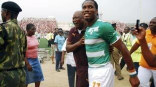 L'Ivoirien Didier Drogba connaît déjà son sort.