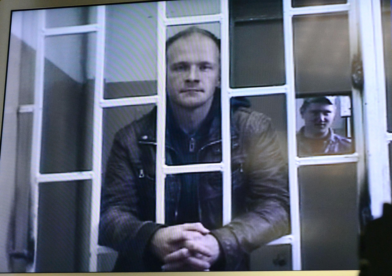 O fotógrafo Denis Sinyakov, um dos trinta detidos na Rússia