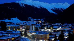 Le centre des congrès de Davos qui accueille le Forum économique mondiale, le 21 janvier 2020.