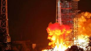 中国嫦娥四号探测器发射资料图片