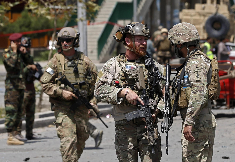 Os norte-americanos atacaram o Estado Islâmico-Khorasan na noite de sexta-feira para sábado.