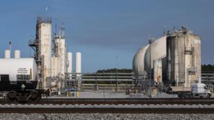 El emplazamiento de la planta química de Olin en McIntosh, Alabama, ha formado parte de un programa de limpieza de residuos de Estados Unidos durante décadas, y ahora se enfrenta a nuevas amenazas por el cambio climático