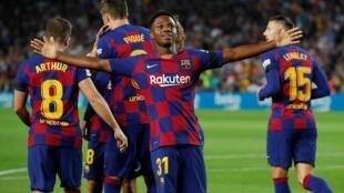 Le Barcelonais Ansu Fati.
