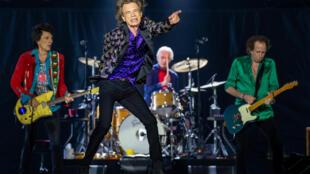 """Mick Jagger e seus colegas de banda dos Rolling Stones recrutaram a organização de direitos autorais BMI para impedir Donald Trump de usar sua música """"You Can't Always Get What You Want"""" em eventos de campanha."""