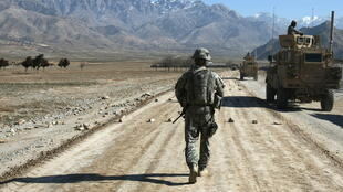 US soldiers, like these seen near Bagram in Afghanistan in 2010, relied on Afghan interpreters during their 20 years in the country
