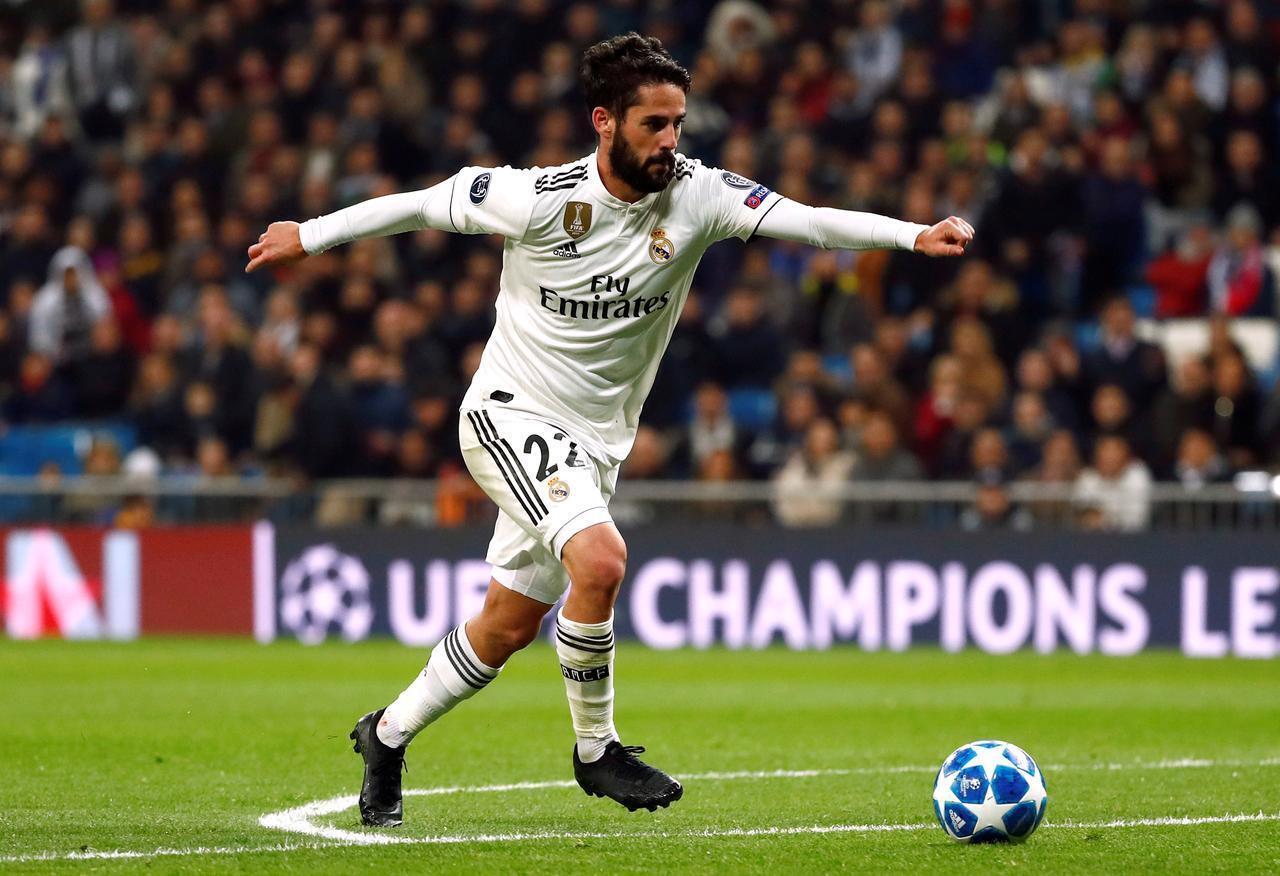 Dan wasan tsakiya na Real Madrid (Francisco Román Alarcón Suárez) wanda aka fi sani da Isco.