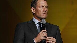 Lance Armstrong at the Livestrong's 15th anniversary gala, his cancer-fighting charity in Austin, Texas, 19 October