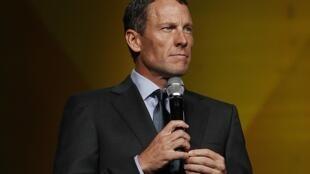 Lance Armstrong en el aniversario de Livestrong en Austin, Texas, el 19 de octubre de 2012.